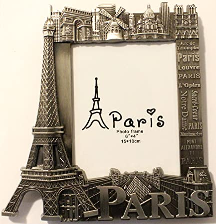 Photo Frame 15 x 10 cm Metal Frame Paris Monument Souvenir - Gifts ...