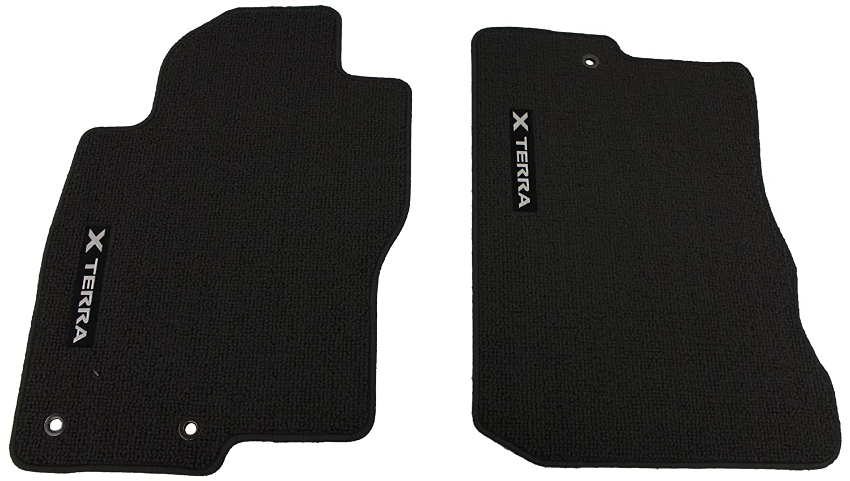 Rubber floor mats nissan xterra - Amazon Com Genuine Nissan Accessories Custom Fit Carpeted Floor Mat Charcoal Automotive