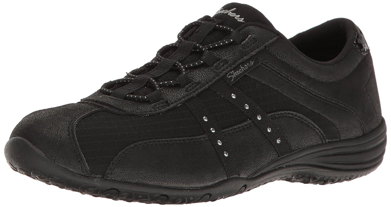 Skechers Women's Unity-Pure Bliss Fashion Sneaker B01N8P9ZTV 8 M US Black