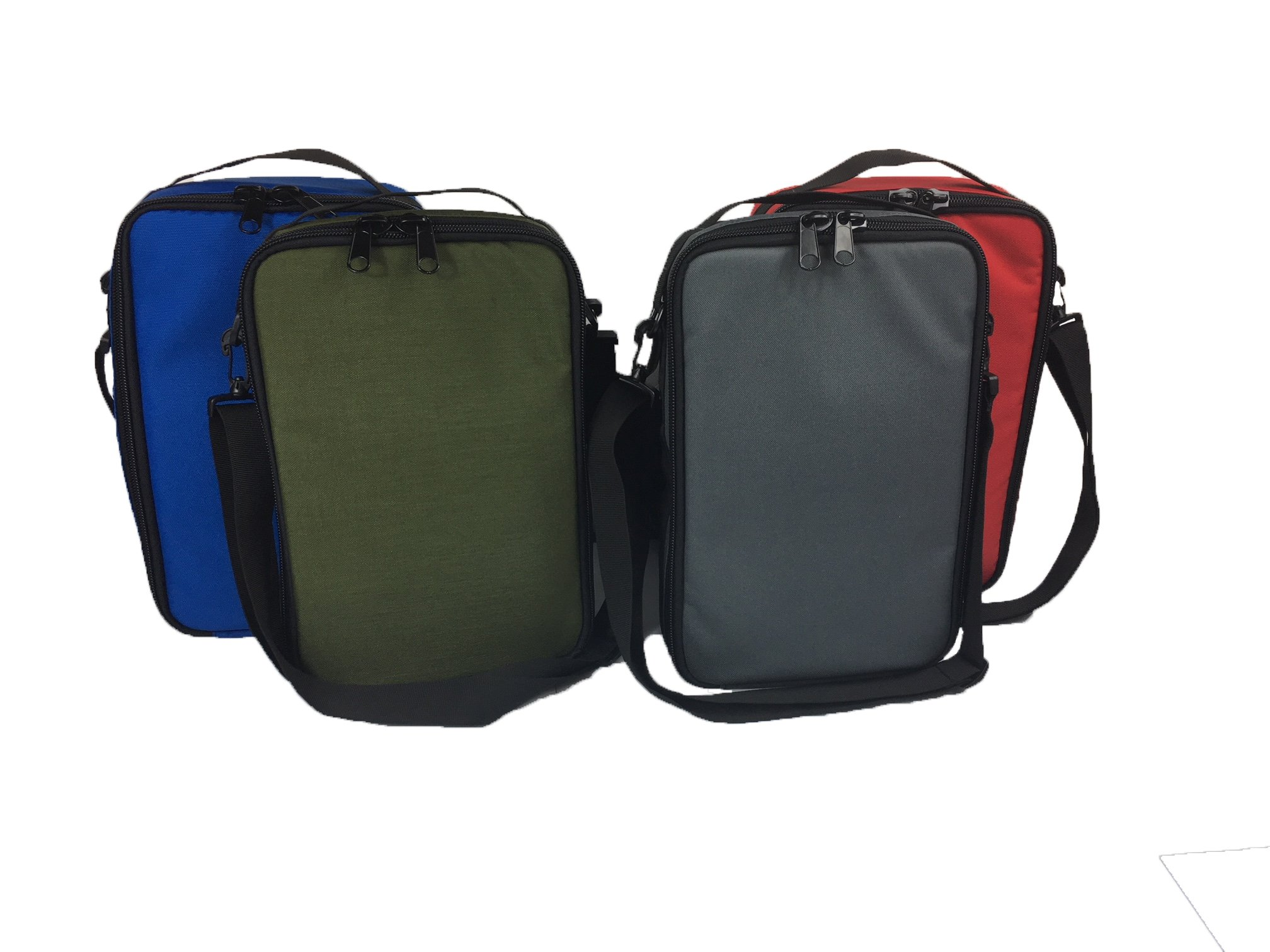 Set of 4 Tactical Organizer Bags with Shoulder Strap by Quik2U