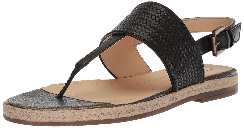 Black Geox Women's D Kolleen Fashion Sandals
