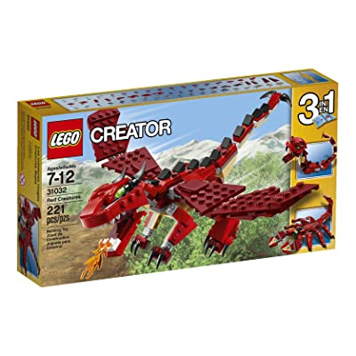 LEGO Creator Red Creatures: Toys & Games