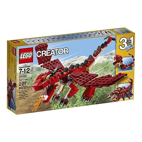 Amazon Lego Creator Red Creatures Toys Games