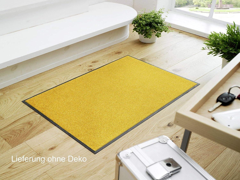 Surface en Polyamide Jaune 60//90 Wash+Dry Trend-Colour Honey Gold Tapis