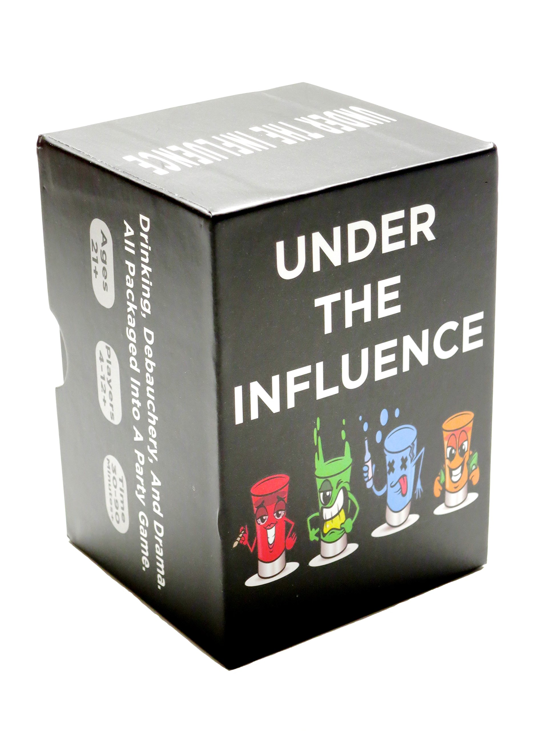 Under The Influence Best Adult Drinking Game For Parties