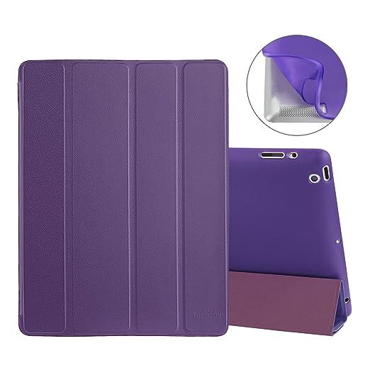 9 opinioni per Custodia iPad 2/3/4, TOROTON 4-Fold Smart Cover Pieghevole Morbido Paraurti
