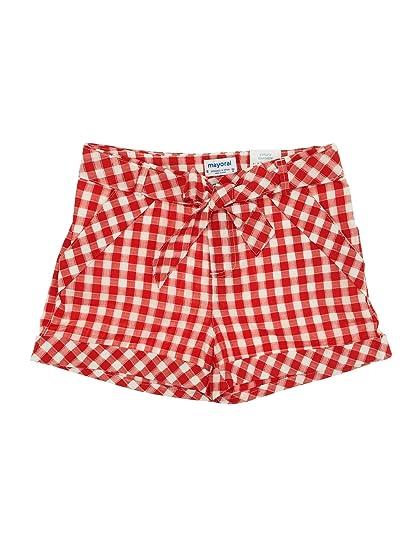 5fc908e724856 mayoral 28-06208-016 - Short Carreau Vichy pour Fille 16 Ans Rouge:  Amazon.fr: Vêtements et accessoires