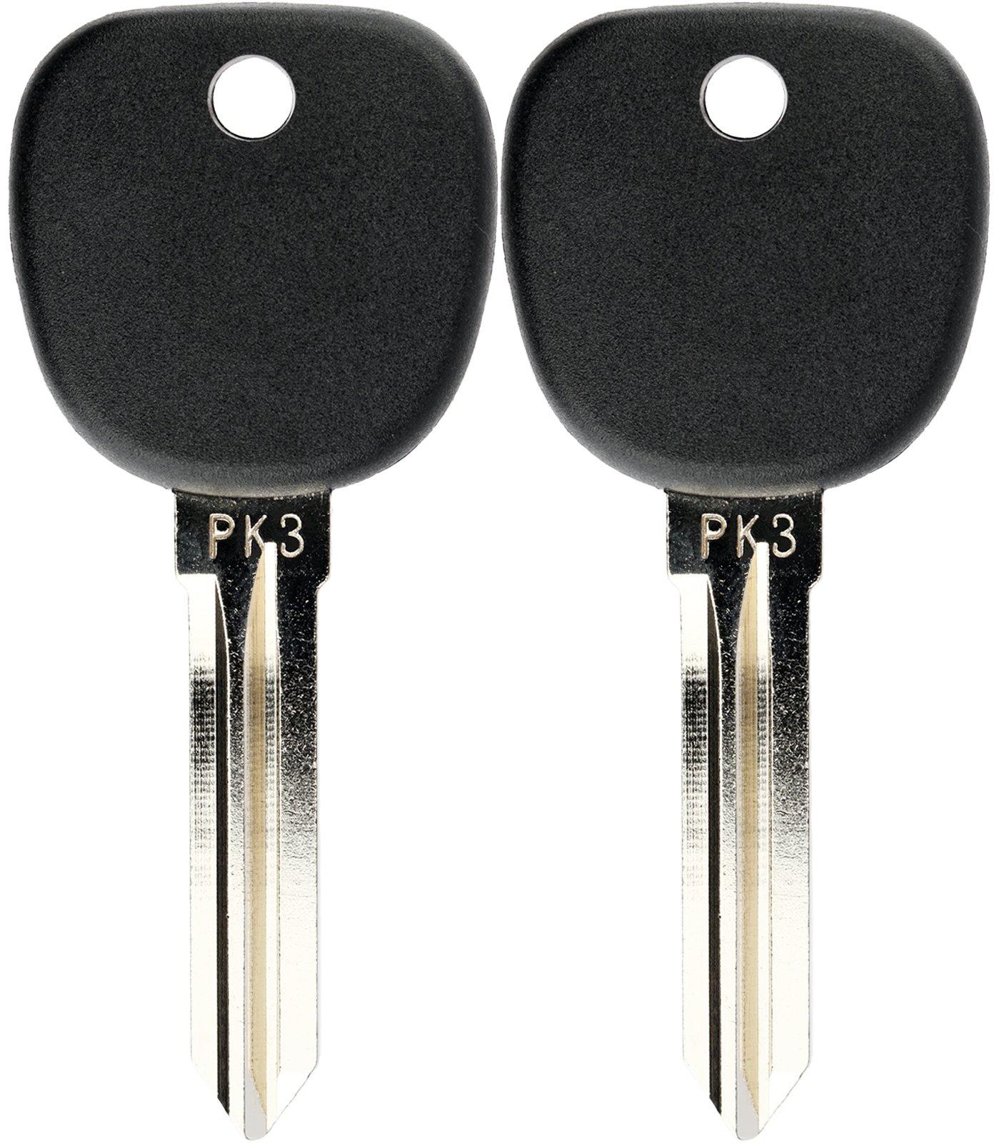 KeylessOption Transponder Chip Uncut Ignition Key Blank Replacement for Y164 LYSB01FWI4B9K-ELECTRNCS