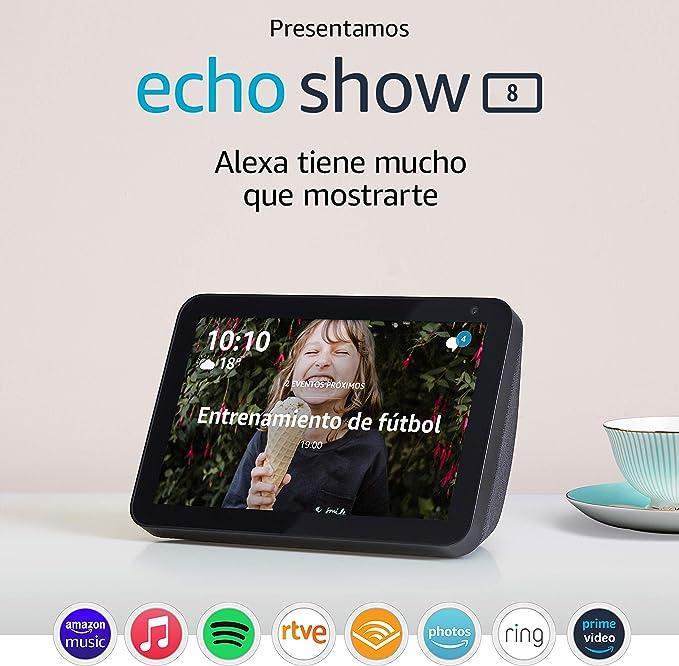 echo show 8 con alexa