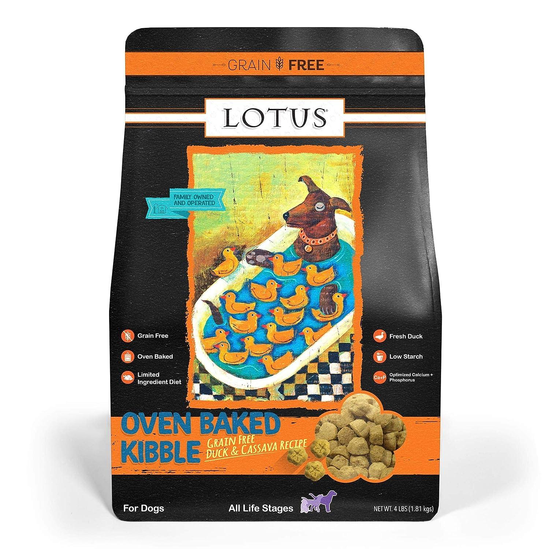 Lotus Dry Dog Food, 4 Lb., Duck And Sweet Potato