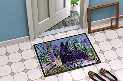 Caroline s Treasures SS8666JMAT Scottish Terrier Indoor or Outdoor Mat 24×36 Doormat, 24H X 36W, Multicolor