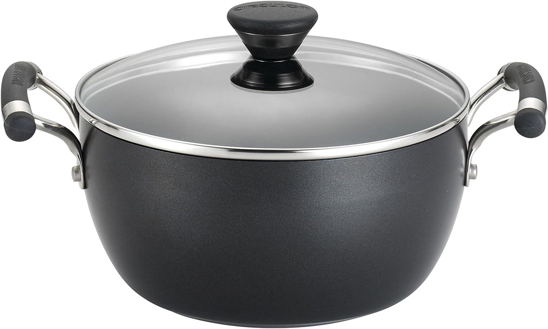 4.5 Quart Circulon Acclaim Hard Anodized Nonstick Casserole Dish//Casserole Pan with Lid Black