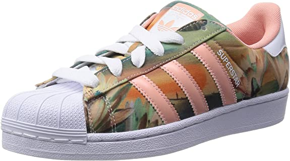 adidas Damen Superstar Sneakers, Pink (Dust Pink S15-St