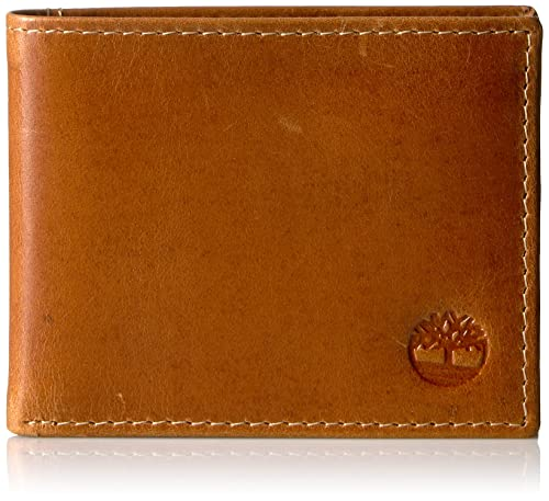Timberland Buff Apache ID - 100% Genuine Leather Carteras - Hombres