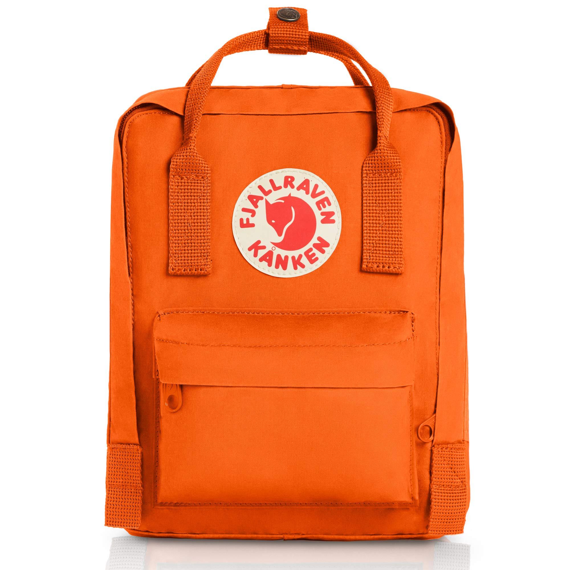 Fjallraven - Kanken Mini Classic Backpack for Everyday, Burnt Orange by Fjallraven