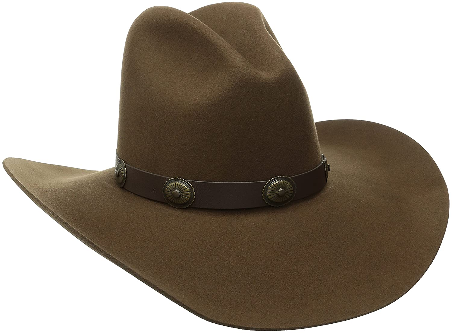 ba51383c1d71bd Bailey of Hollywood Western Men's Wool Felt Tombstone Hat at Amazon Men's  Clothing store: