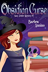 Obsidian Curse (A Stacy Justice Mystery Book 5) Kindle Edition