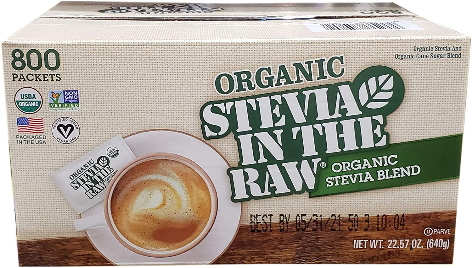 Organic Stevia In The Raw, 22.57 Ounce