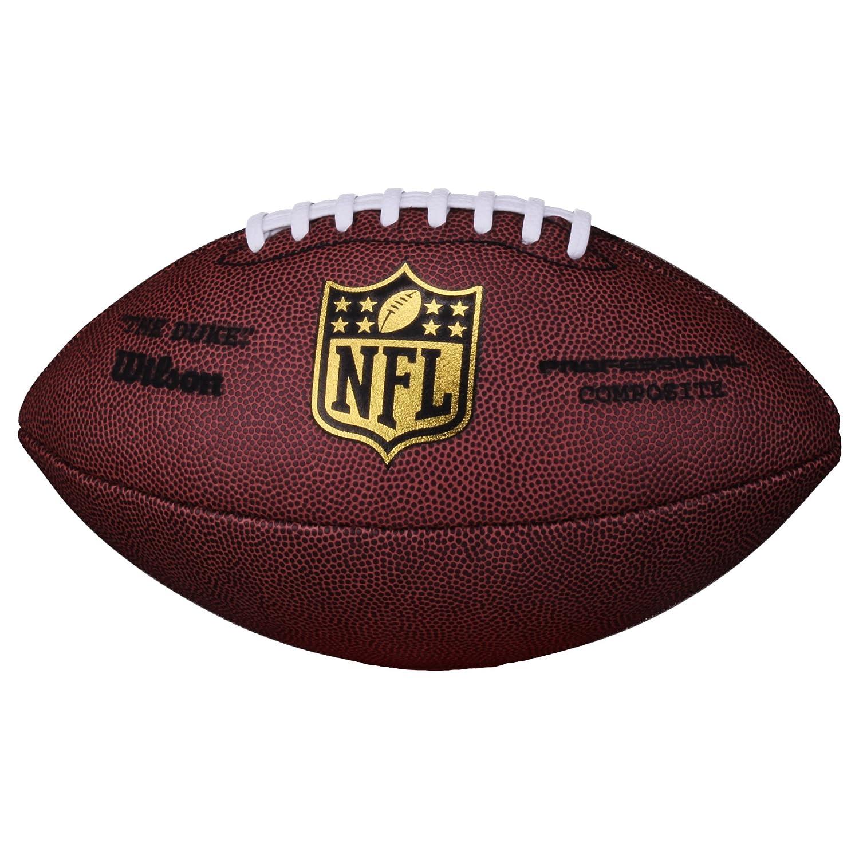 Wilson NFL Game The Duke Replica Ballon de football, SC, rouge, Senior, wl0206121141