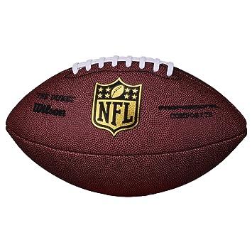 b33d48f83 Wilson Football NFL Game Ball The Duke Replica WL0206121141 SC Red Senior