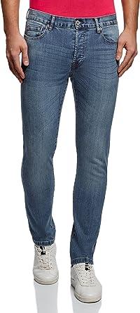oodji Ultra Uomo Jeans Slim Fit Basic