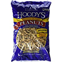 Hoody's In-Shell Classic Roast Peanuts Unsalted 5 Pounds - PACK OF 3
