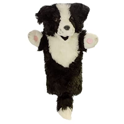The Puppet Company Long-Sleeves Border Collie Hand Puppet: Toys & Games [5Bkhe2005406]