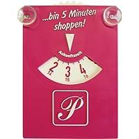 Parkscheibe Pink mit Sauger ~~~~~ schneller Versand innerhalb 24 Stunden ~~~~~