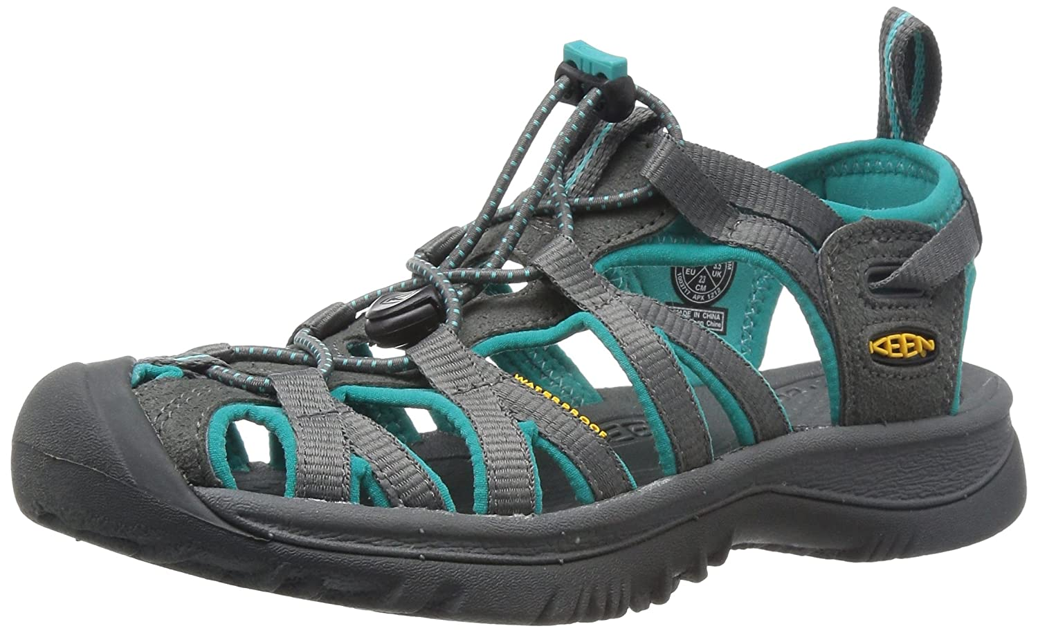 Women's Keen Whisper B003Z4JWHU 9.5 B(M) US|Dark Shadow/Ceramic