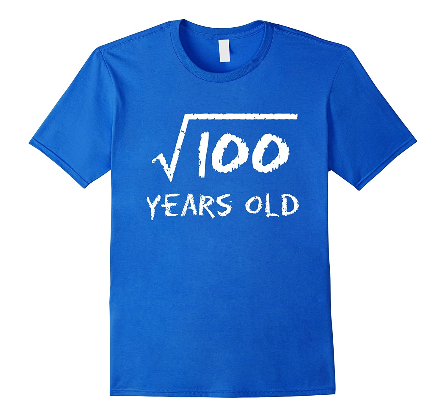 Square Root of 100: 10th Birthday 10 Years Old T-Shirt-FL