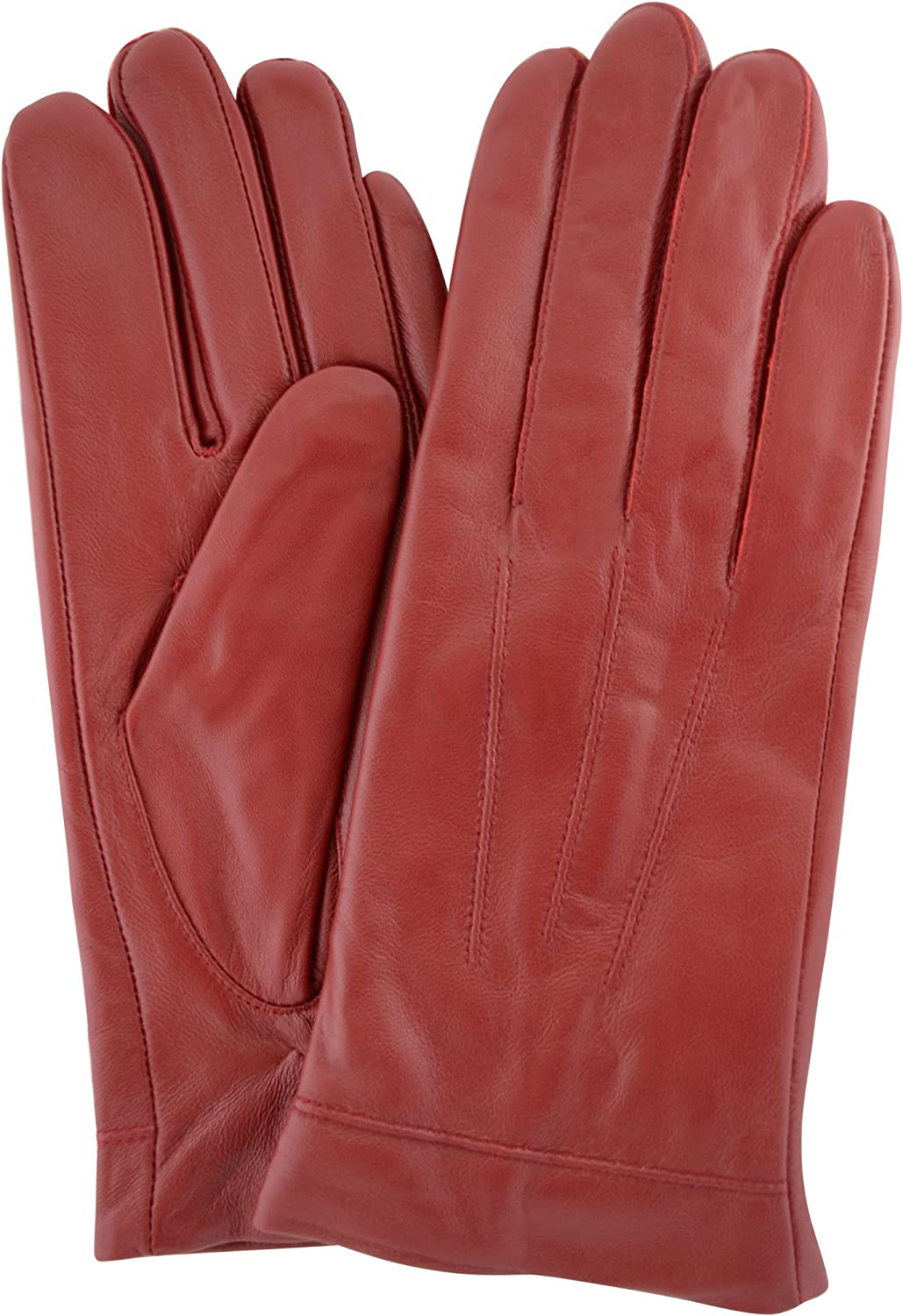 Snugrugs Butter Soft Premium Leather Glove Guantes Para Mujer (red)