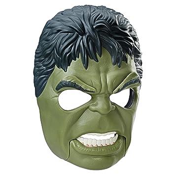 Marvel Avengers Mascara Hulk con Movimiento, (Hasbro B9973EU4): Amazon.es: Juguetes y juegos