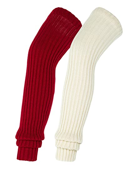 0a065213aea Urban CoCo Women s Winter Knee High Footless Socks Knit Crochet Leg Warmer  ...