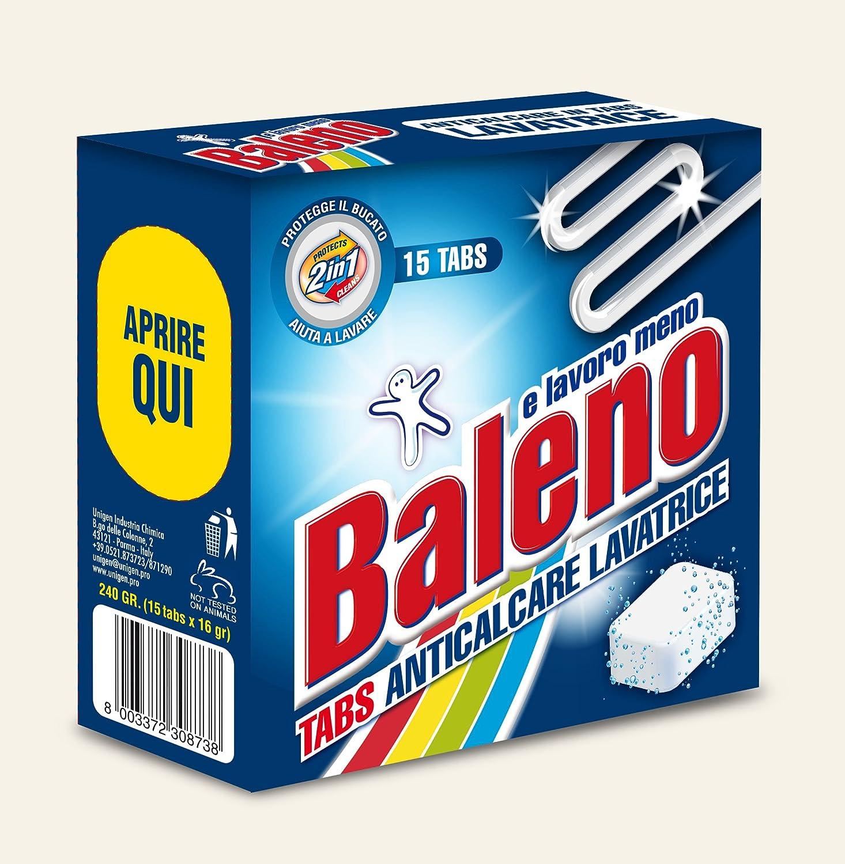 Baleno y Trabajo Menos Tabs Antical Lavadora - 5 g: Amazon.es ...