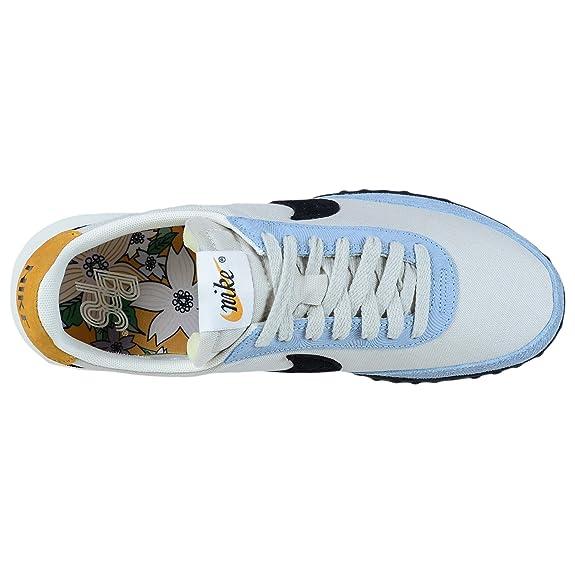 2cfd3bd5ffaa2 Nike Roshe Waffle Racer NM Light Bone Black Blue Retro Style 845089 003   Amazon.ca  Shoes   Handbags