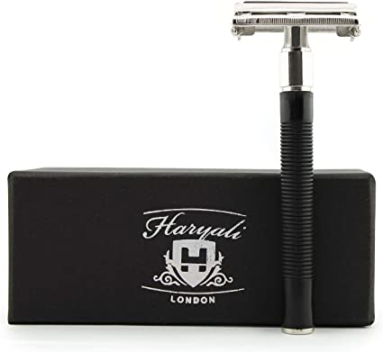 Haryali London - Cuchilla de afeitar clásica de doble filo estilo ...