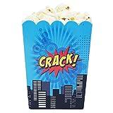 Mini Superhero Theme Birthday Party Popcorn Favor