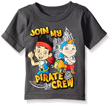 cbd5ba27b Amazon.com: Disney Toddler Boys' Pirate Team T-Shirt: Clothing
