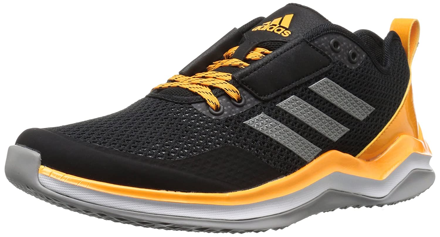 adidas メンズ Speed Trainer 3.0 B01MRZMOXG 9.5 D(M) US|Black/Iron/Collegiate Gold Black/Iron/Collegiate Gold 9.5 D(M) US