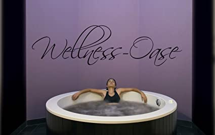 Wandtattoos w wellness oase frasi citazioni da parete adesivo