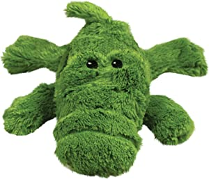 KONG - Cozie Ali Alligator - Indoor Cuddle Squeaky Plush Dog Toy - For Medium Dogs