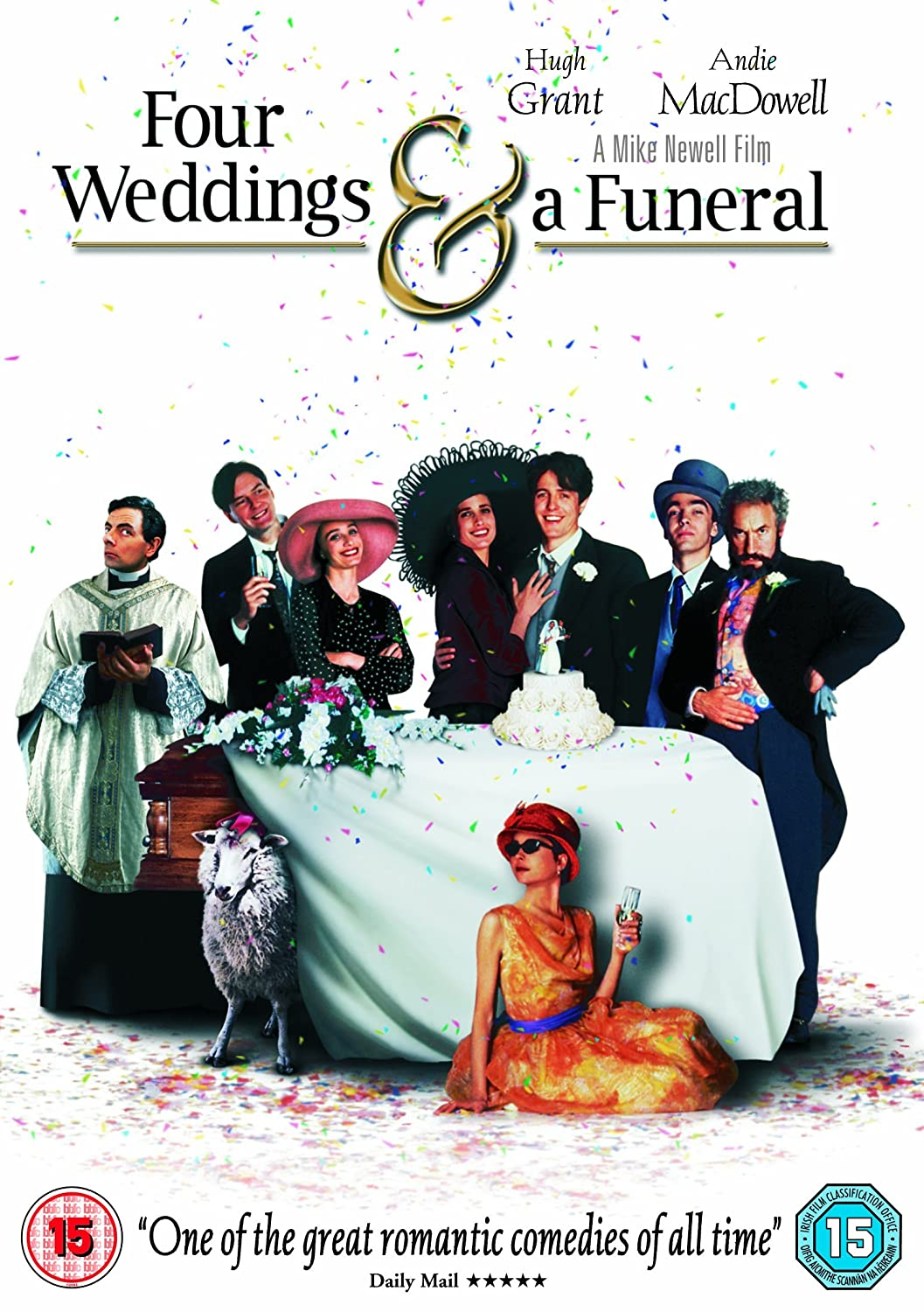 Four Weddings And A Funeral Dvd 1994 Amazon Hugh Grant