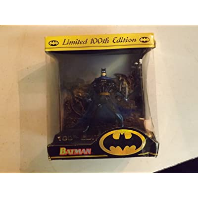Vintage 1996 Kenner 100th Edition Batman 5-Inch Action Figure: Toys & Games
