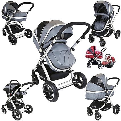 Cochecito de bebé y silla de paseo 3en 1i-Safe