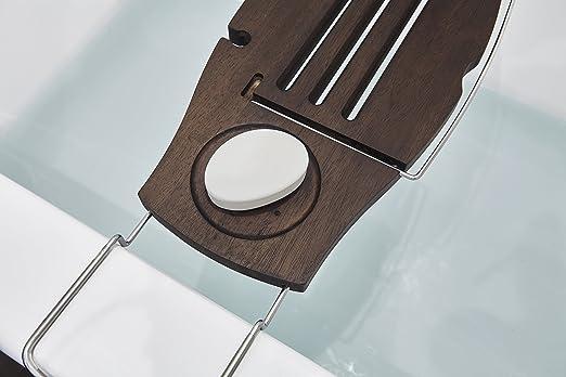 Vasca Da Bagno Zincata : Umbra caddy vasca da bagno legno noce 68.96x22.22x2 cm 3 unità