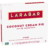 Larabar, Fruit & Nut Bar, Coconut Cream Pie, Gluten Free, Vegan (5 Bars)