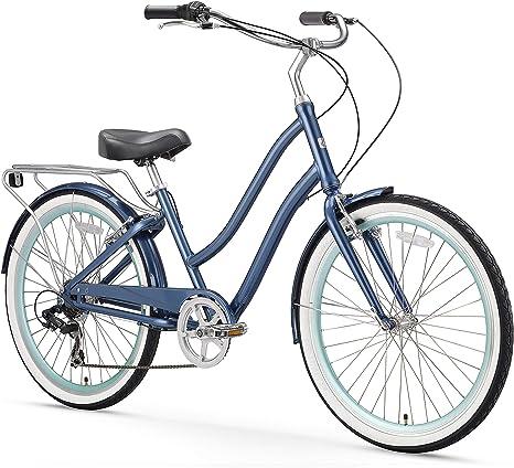 Sixthreezero EVRYjourney Bicicleta de Playa híbrida de aleación ...