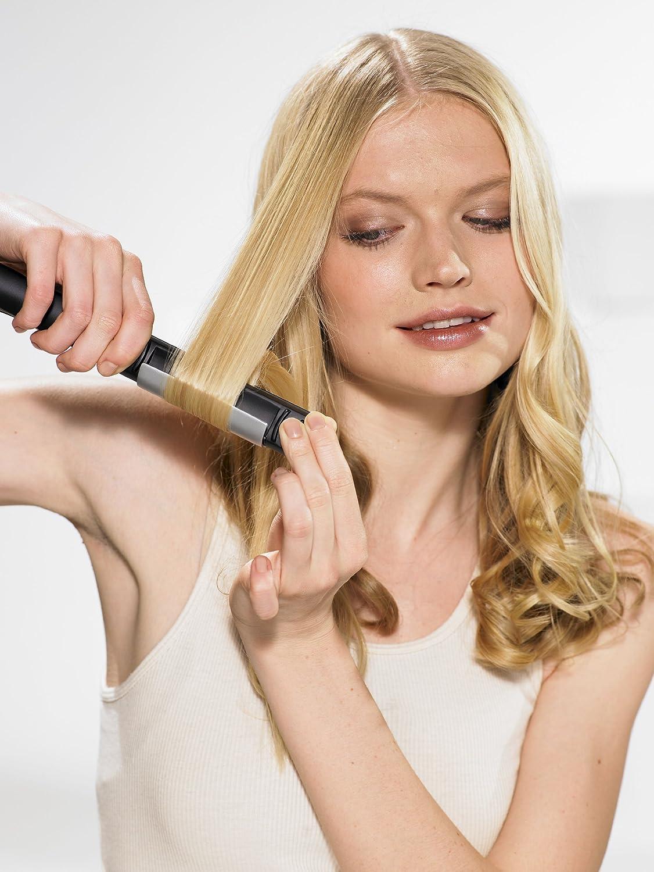 BaByliss I-Curl Pro230 - Plancha de pelo y rizador de cabello, placas Titanium Ceramic para alisar y ondular, 3 niveles de temperatura hasta 230º: Amazon.es: Salud y cuidado personal