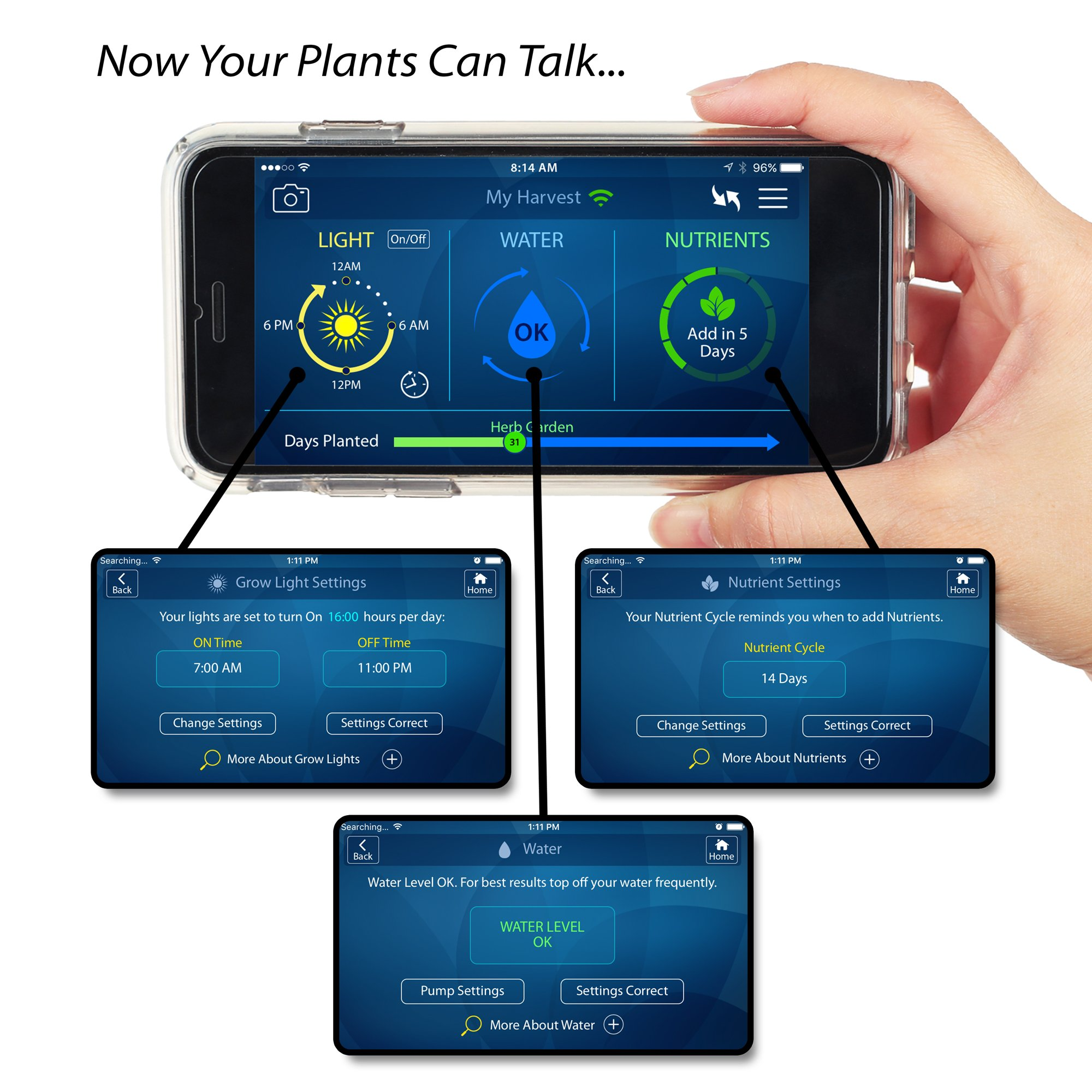 Aerogarden Harvest Wifi: AeroGarden Indoor Harvest Wi-Fi With Gourmet Grow Herb