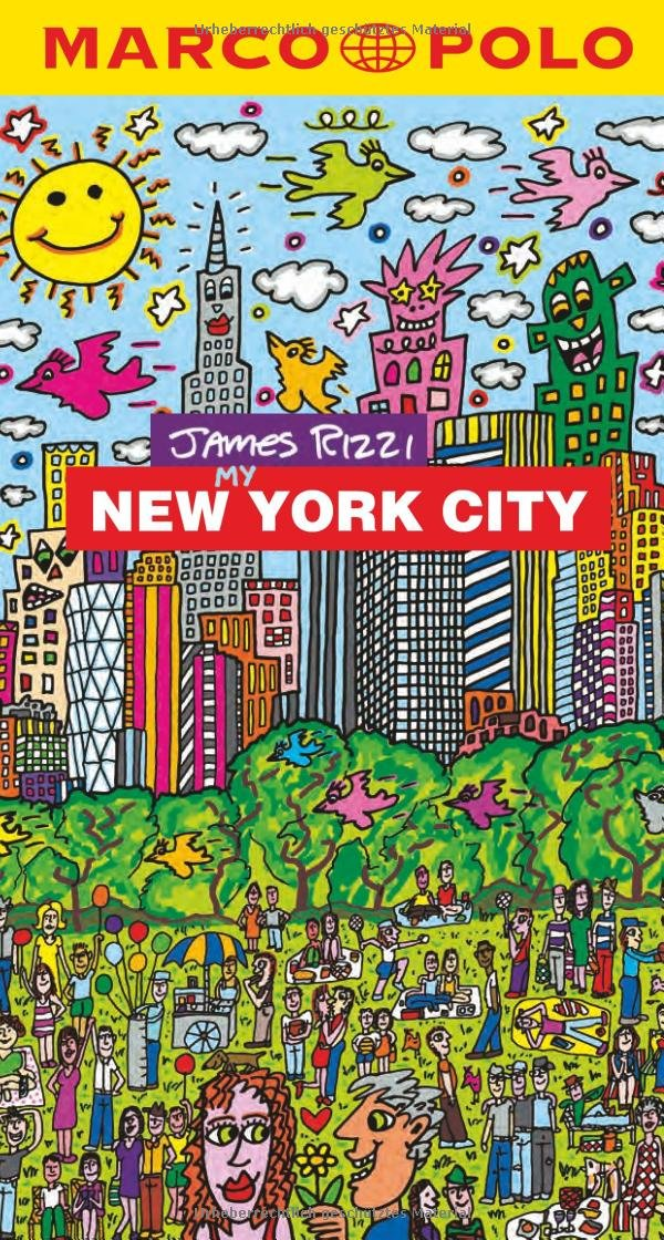 MARCO POLO Reiseführer MARCO POLO City Guide - James Rizzi My New York City